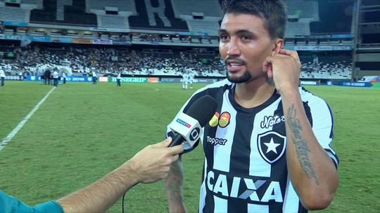 """Kieza diz que gol foi muito importante: """"Estava precisando"""""""