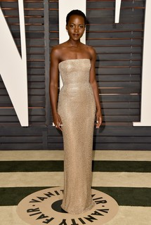 Lupita Nyong'o  de Calvin Klein Collection