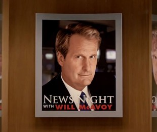 Trecho de trailer da segunda temporada de 'The newsroom'   Reprodução da internet