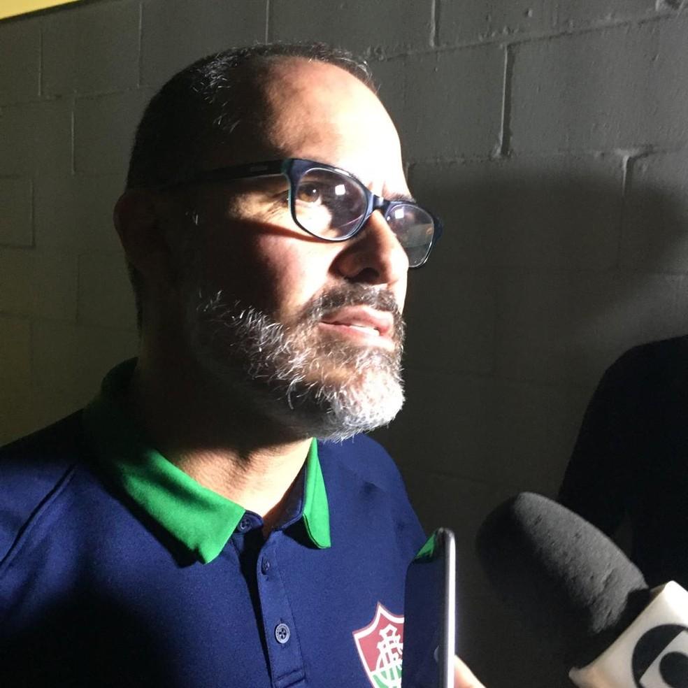 Abad diz que Campeonato Carioca tem que acabar — Foto: Felipe Siqueira/GloboEsporte.com