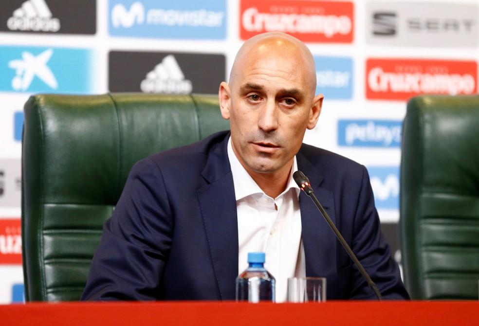 Luis Rubiales Espanha Presidente Federação Espanhola Demissão Lopetegui Copa do Mundo (Foto: REUTERS/Stringer)