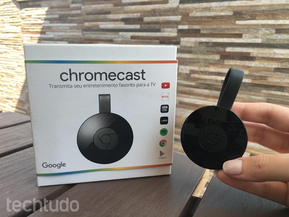 676dff8334f Como saber se o Chromecast 2 é original  veja dicas antes de comprar ...