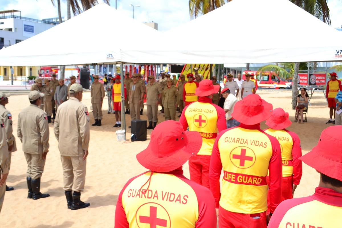 Operação Verão é lançada pelo Corpo de Bombeiros no litoral da Paraíba
