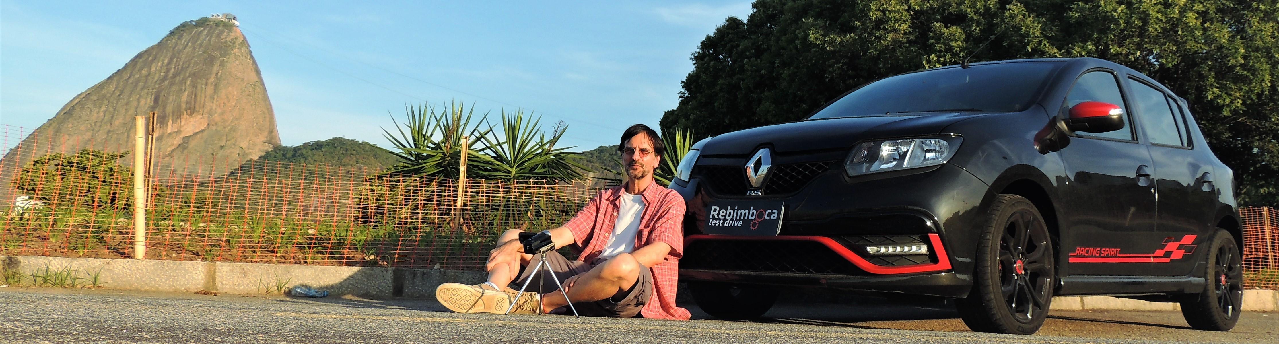 HK e o Renault Sandero RS Racing Spirit