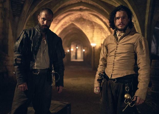 Tom Cullen e Kit Harington (Foto: Divulgação/AMC)