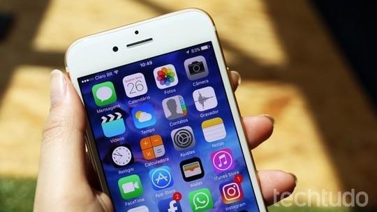 Foto: (iPhone 7 Plus roda iOS 10, sistema mais recente da Apple (Foto: Anna Kellen Bull/TechTudo))