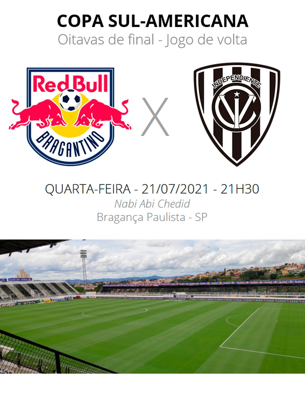 Bragantino x Independiente Del Valle — Foto: ge