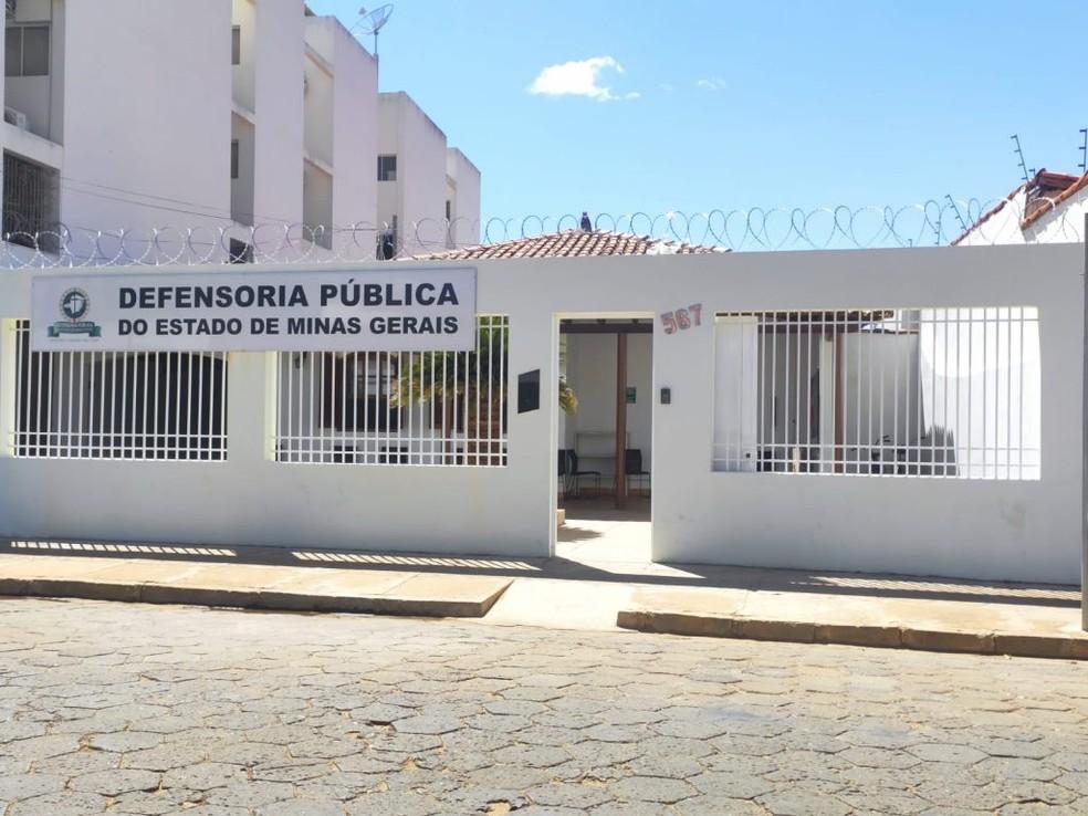 Defensoria Pública de Janaúba — Foto: DPMG