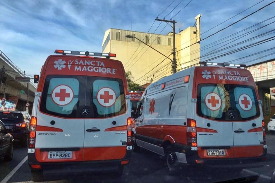 Ambulância Coronavírus São Paulo  (Foto: André Schaun/Autoesporte )