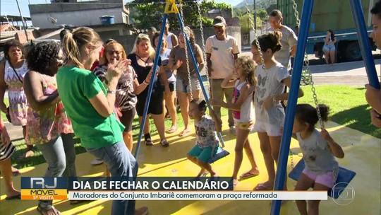 O RJ Móvel fechou calendário, em Duque de Caxias, nessa quarta-feira