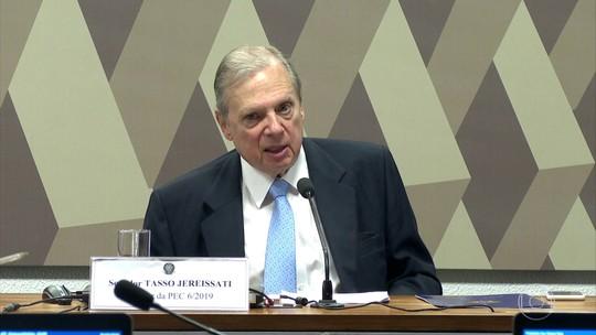 Relator da reforma da Previdência na CCJ do Senado apresenta parecer final