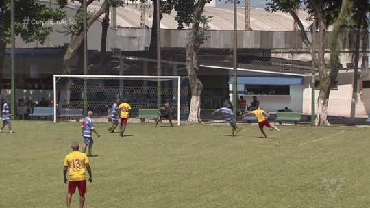 Jogadores veteranos de Jabaquara e Saldanha se reúnem para disputa de amistoso