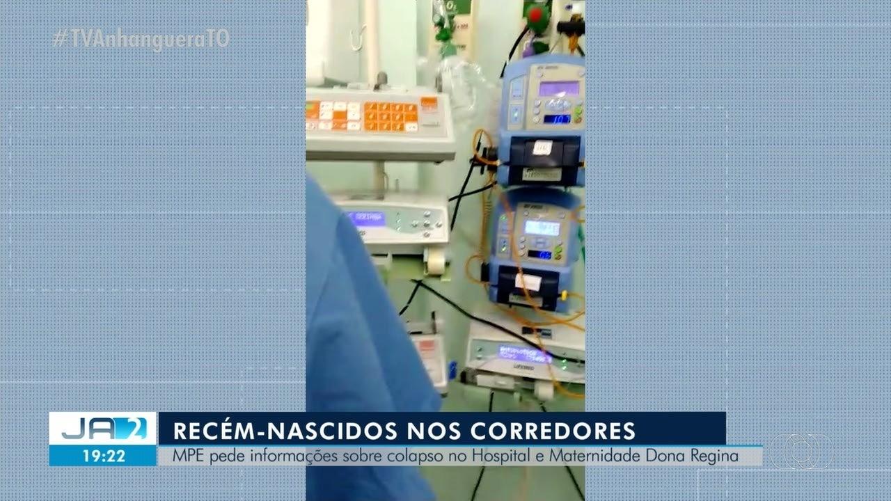 MPE pede informações sobre colapso no Hospital e Maternidade Dona Regina