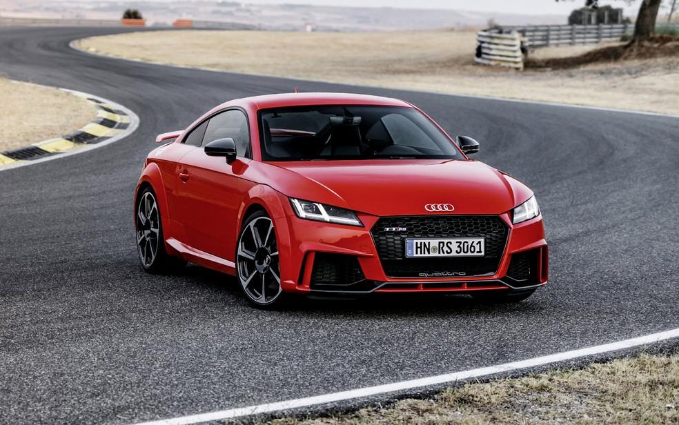 Audi TT RS 2016 (Foto: Divulgação)