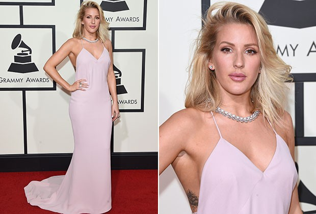 Ellie Goulding no Grammy 2016 (Foto: Getty Images)