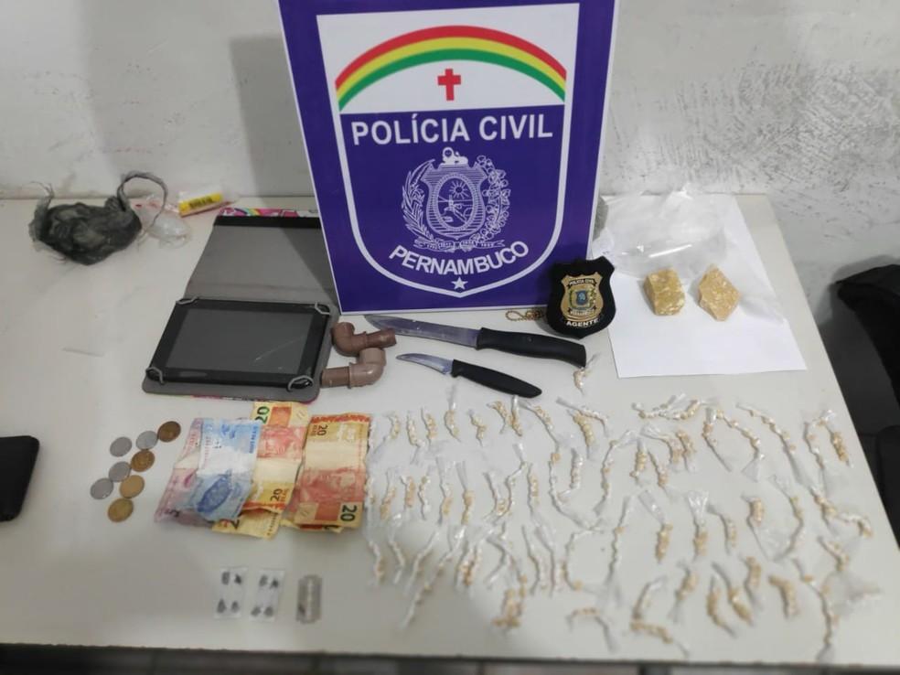 Operação Impacto foi realizada no Grande Recife, na quarta-feira (27)  — Foto: Polícia Civil/Divulgação