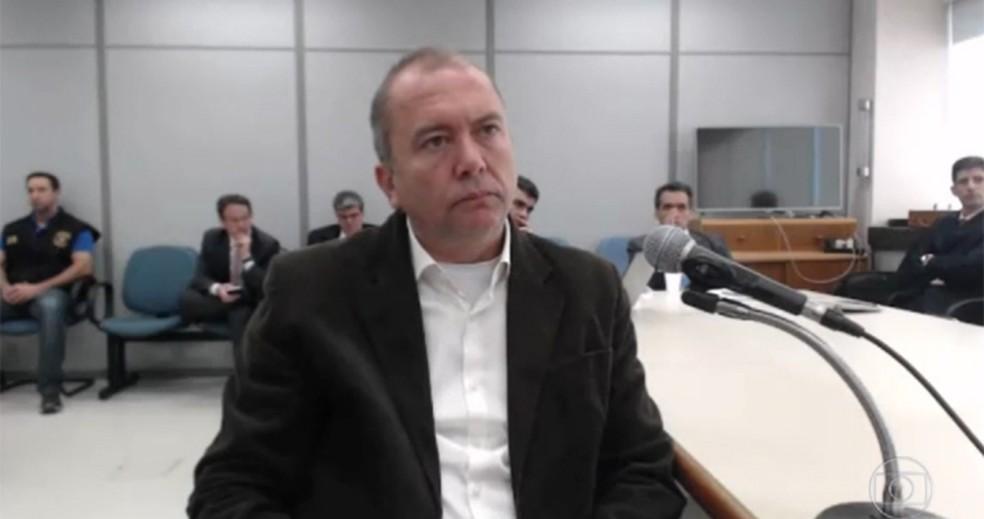 Carlos Miranda teve a delação homologada (Foto: Reprodução/TV Globo)
