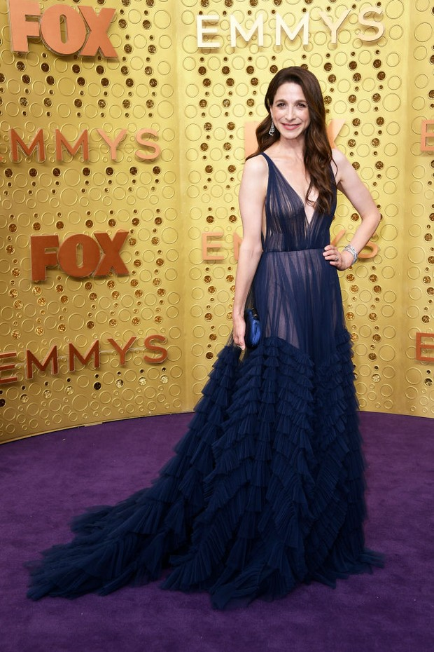 LOS ANGELES, CALIFORNIA - SEPTEMBER 22: Marin Hinkle attends the 71st Emmy Awards at Microsoft Theater on September 22, 2019 in Los Angeles, California. (Photo by Frazer Harrison/Getty Images) (Foto: Getty Images)