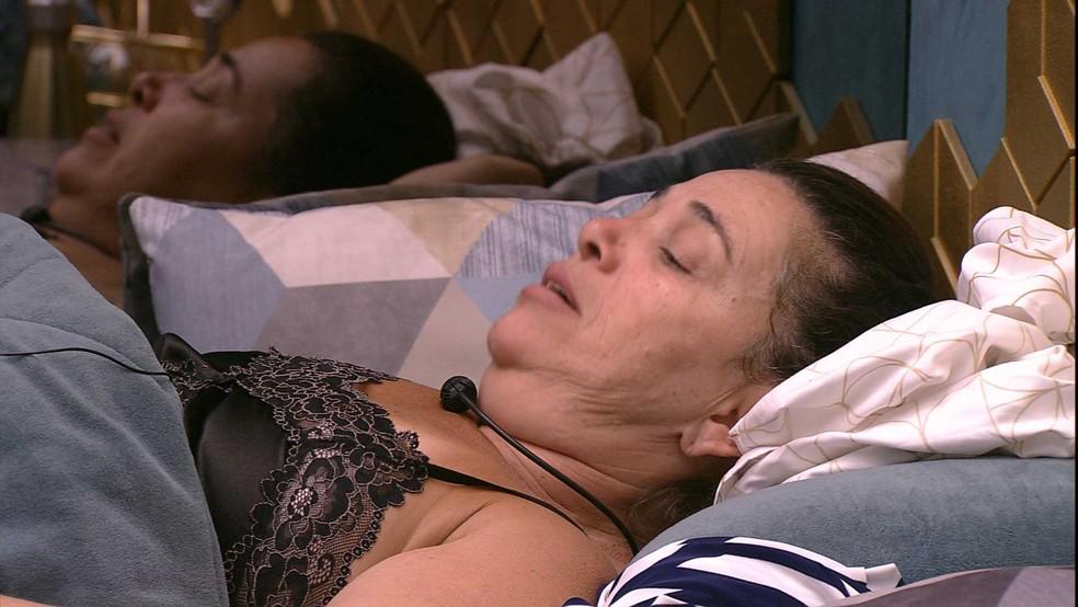 Tereza voltou a falar sobre seu isolamento no jogo — Foto: TV Globo