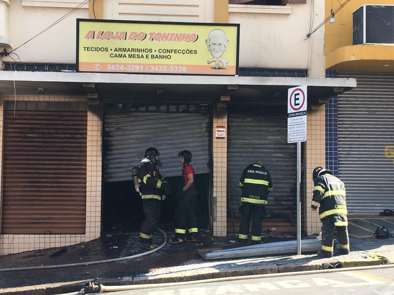 Tradição de 67 anos 'ferida' por incêndio: dono espera reabrir loja de tecidos de Piracicaba - Noticias