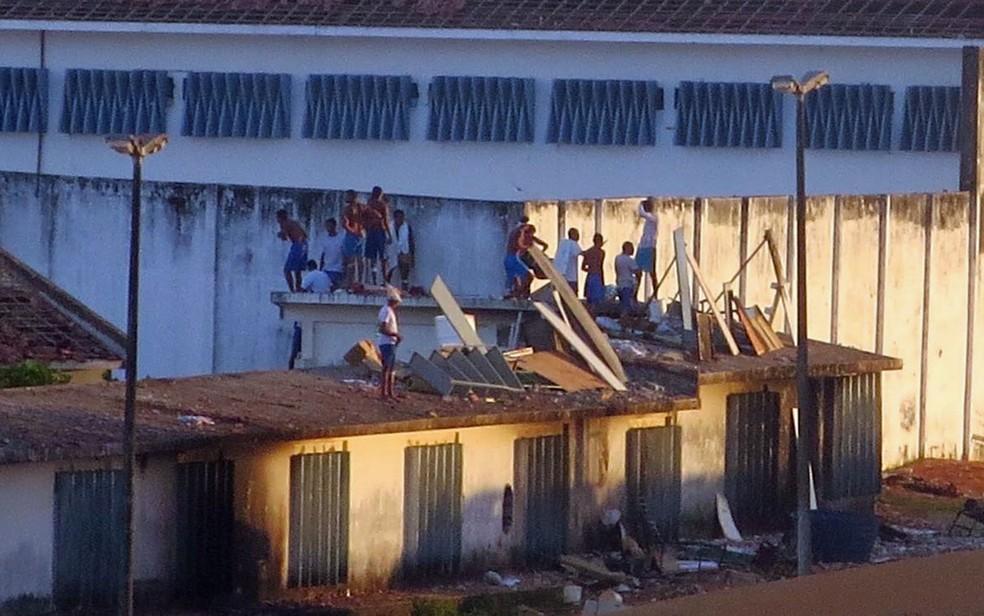 Penitenciária foi palco de massacre que deixou 26 mortos em janeiro de 2017 (Foto: Fred Carvalho/G1)