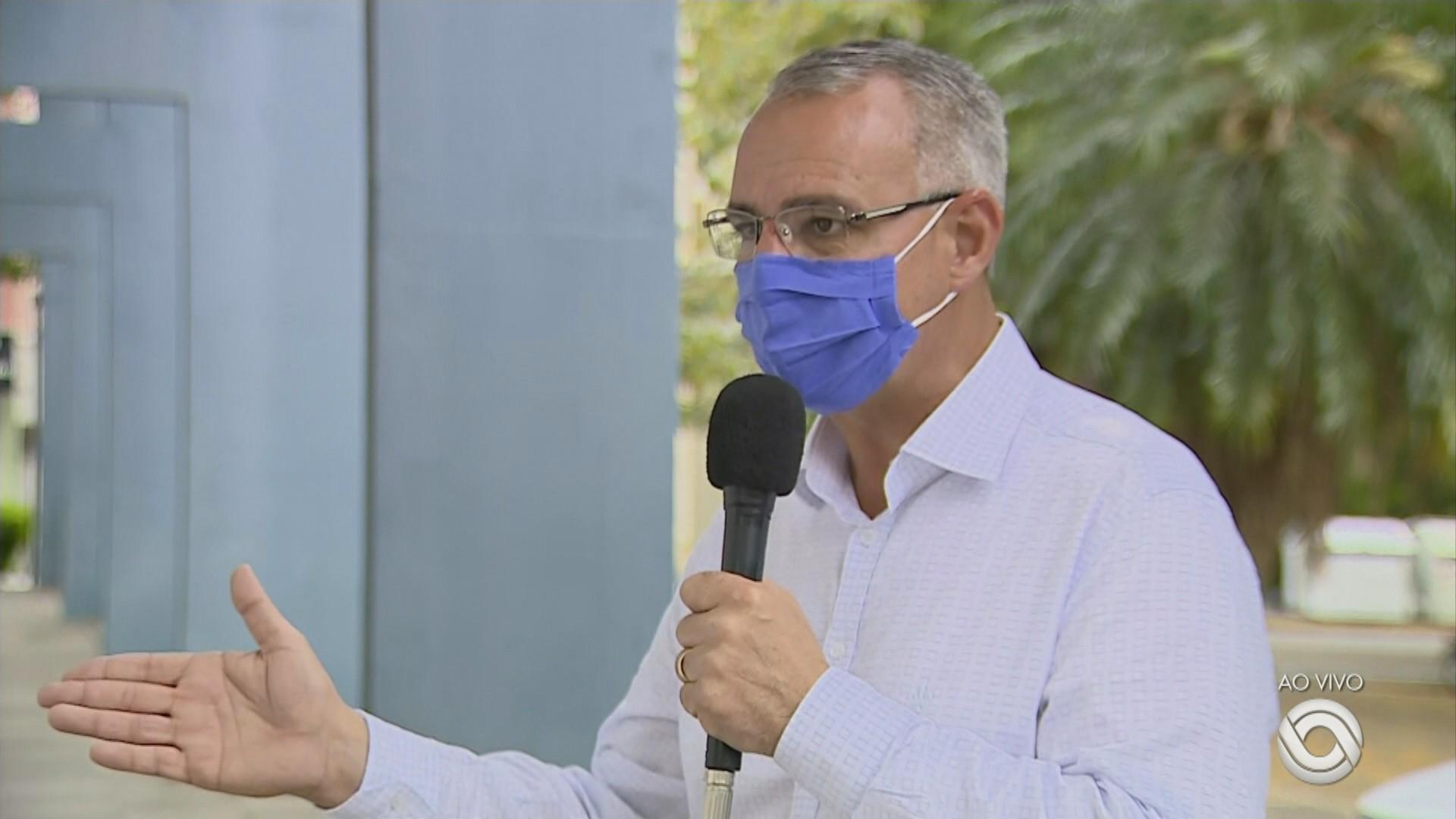Reeleito prefeito de Santa Maria, Pozzobom, do PSDB, fala sobre medidas de enfrentamento à pandemia