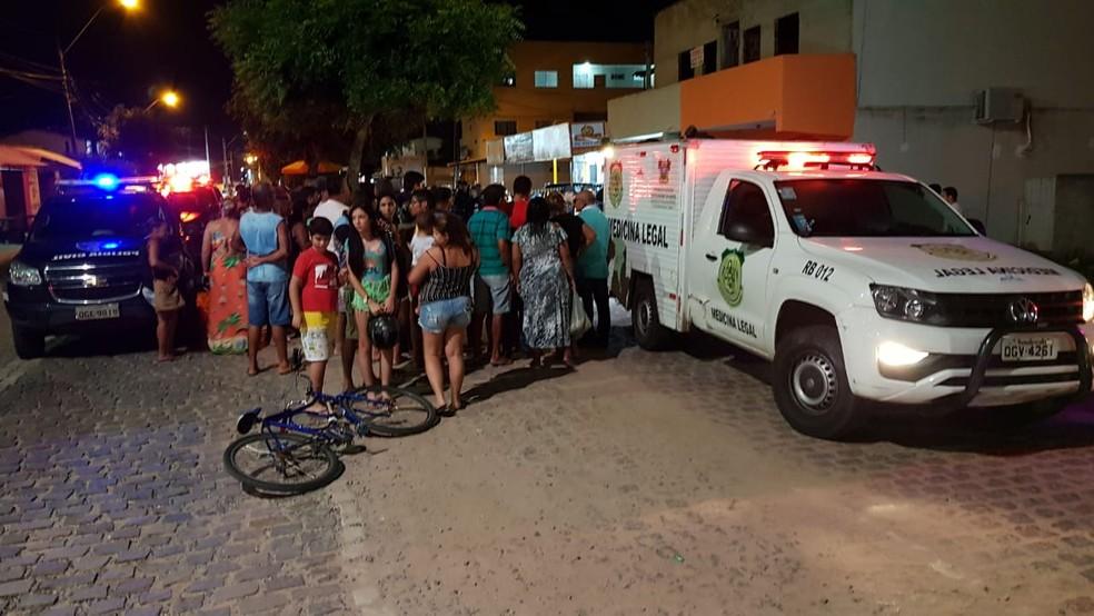 Polícia Civil foi acionada e enviou uma equipe até Cajupiranga — Foto: Rafael Fernandes/Inter TV Cabugi