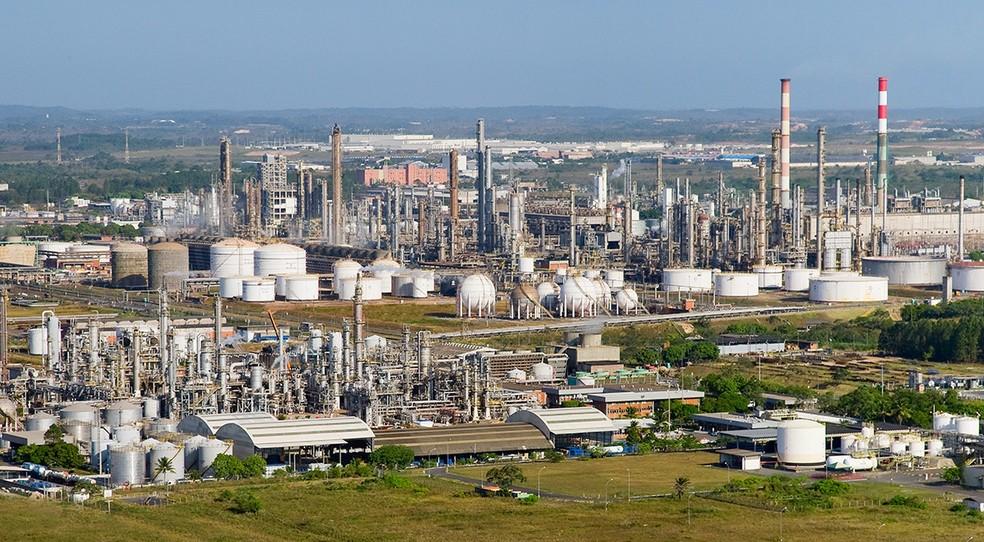Pólo de Camaçari, na região metropolitana de Salvador, onde ficam as usinas termelétricas da Petrobras que foram vendidas — Foto: Divulgação/Cofic