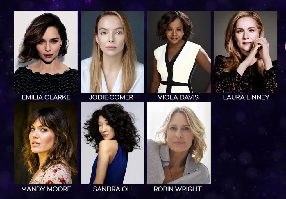 Indicadas a melhor atriz de série dramática no Emmy 2019 — Foto: Divulgação