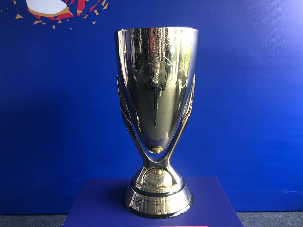 Taça do Paulistão de 2020 — Foto: Ana Canhedo