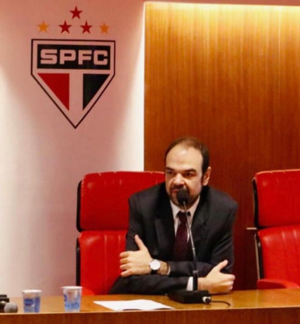 Leonardo Serafim, diretor jurídico do São Paulo — Foto: Divulgação/São Paulo