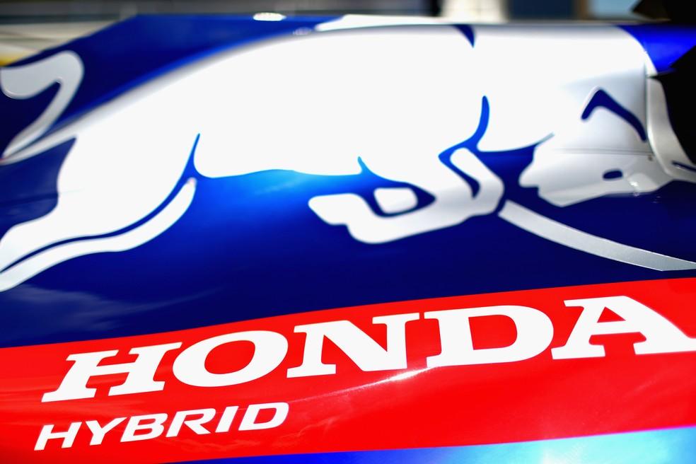 Honda começou trabalho com a STR na temporada de 2018 — Foto: Getty Images