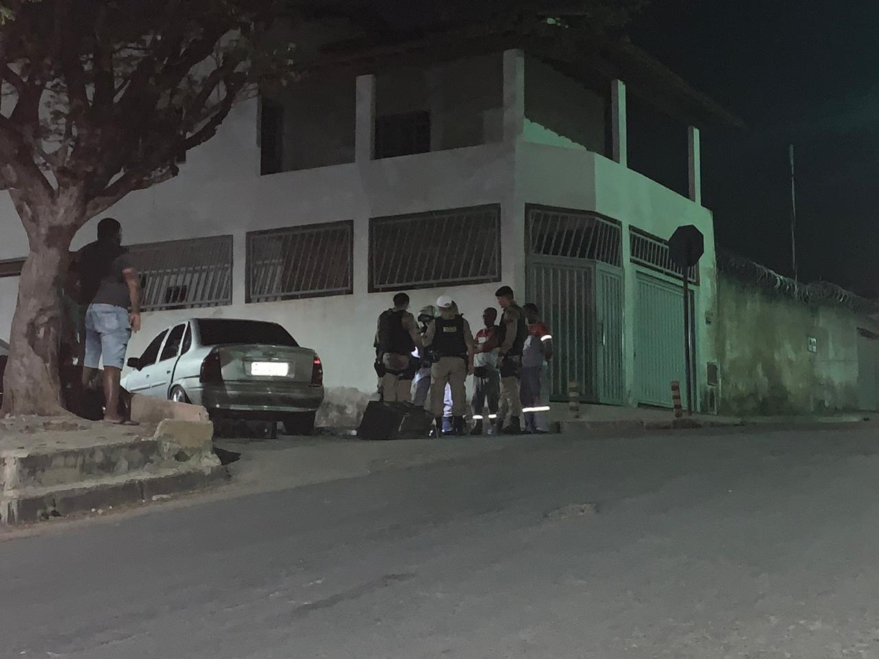 Albergado é baleado depois de fugir de abordagem policial em Montes Claros - Notícias - Plantão Diário