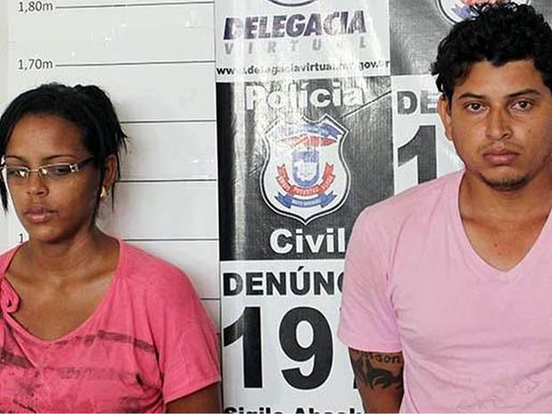 Pai e madrasta foram presos pela Polícia Civil na cidade Água Boa (Foto: Inácio Roberto/Jornal Interativo)