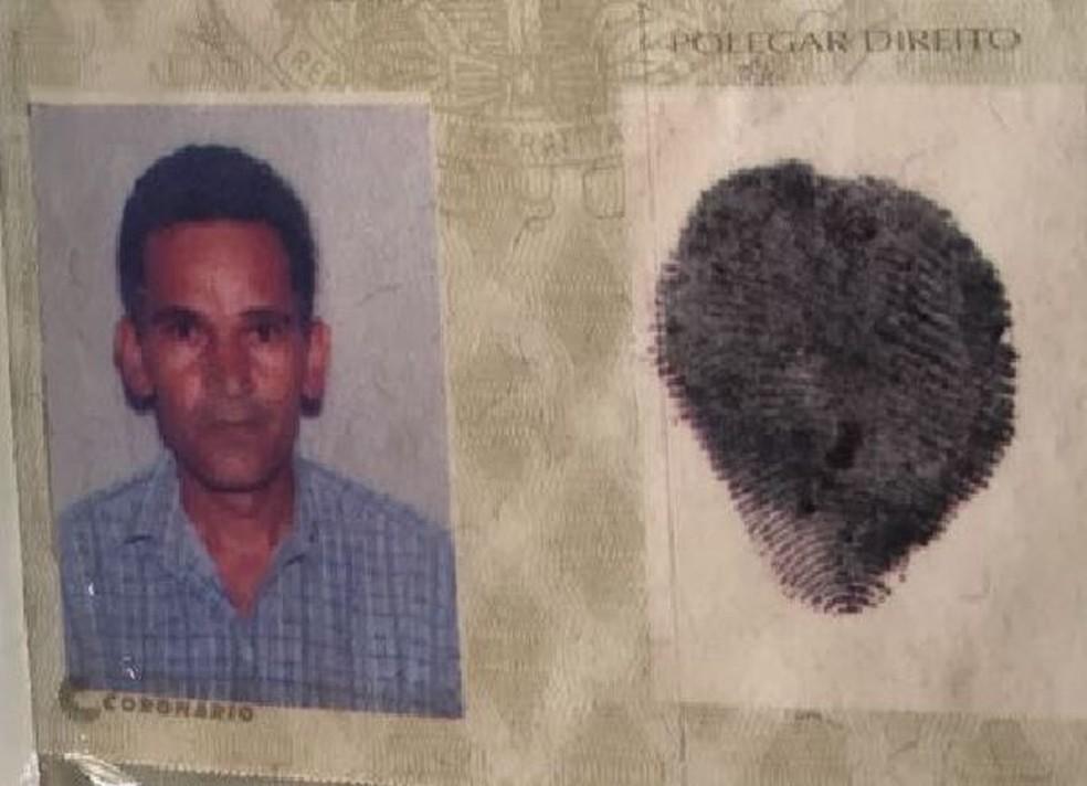 Reprodução do RG de Damião Santos, identificado como o autor do ataque à creche de Janaúba (Foto: Polícia Civil/Reprodução)