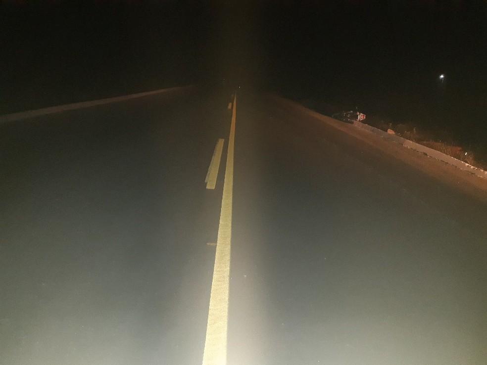 Motociclista morreu após acidente na BR-226 no RN — Foto: PRF/Cedida