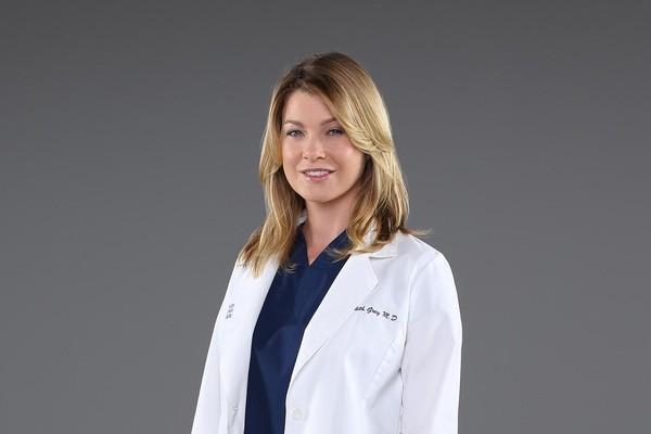 Ellen Pompeo como Meredith Grey em foto promocional da série 'Grey's Anatomy' (Foto: Divulgação)
