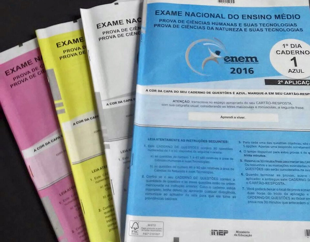Perícia feita no Inep indica fragilidades no processo de pontuação das medidas de provas do Enem 2016