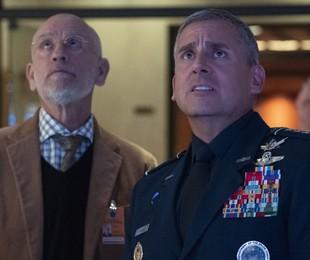 Cena de 'Space Force'   Netflix
