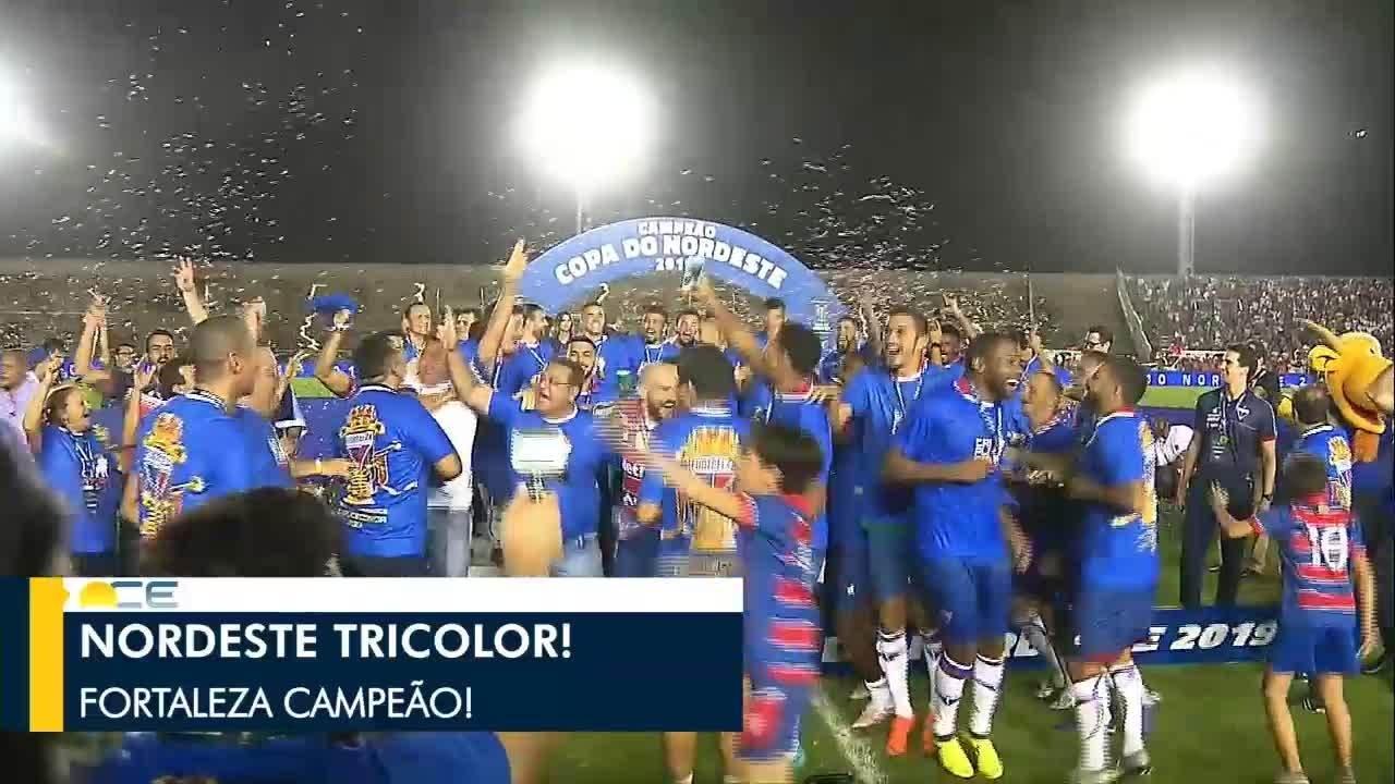 Fortaleza é campeão da Copa do Nordeste