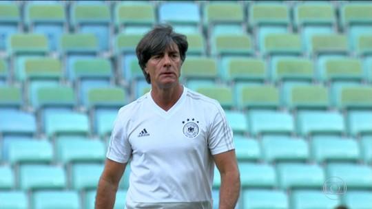 Alemanha vai enfrentar Suécia na segunda rodada sob muita pressão