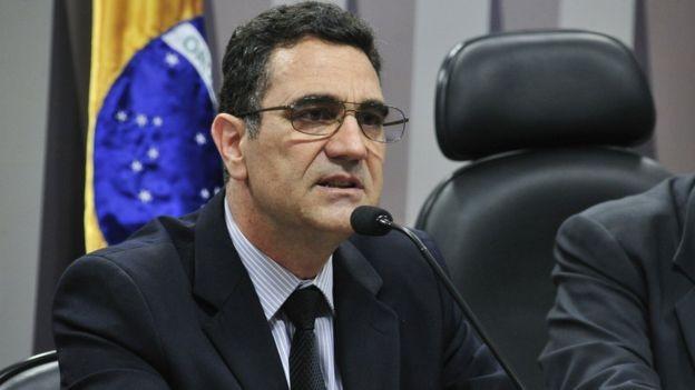 Miguel Nagib, fundador do Escola Sem Partido, movimento que, para Cortella, é uma 'possibilidade da democracia' (Foto: GERALDO MAGELA/AGÊNCIA SENADO)