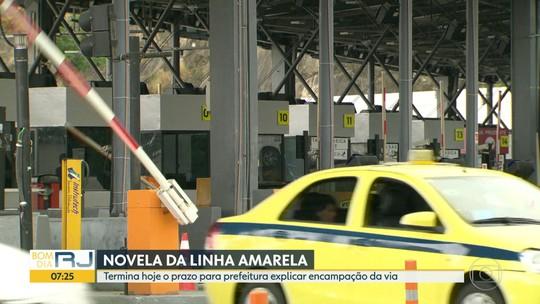 Linha Amarela: prefeitura tem até esta segunda para explicar ao Tribunal de Contas como pretende tomar a via