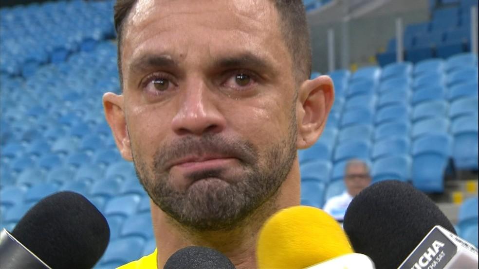 Magrão abandonou a carreira após problema (Foto: Reprodução/RBS TV)