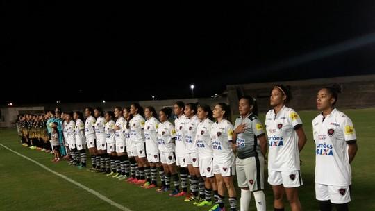 c7bb0a66b8022 Botafogo-PB só perdeu em três rodadas disputadas do Brasileiro Feminino A2.  No quarto jogo