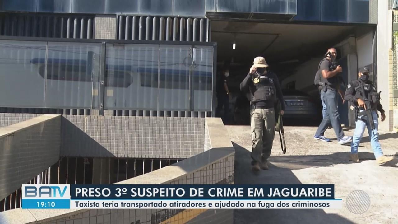 Suspeito de envolvimento no ataque que deixou 3 mortos na praia de Jaguaribe é preso
