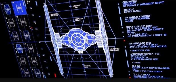 Construção de Interface para Star Wars: Os últimos Jedi (Foto: Divulgação)