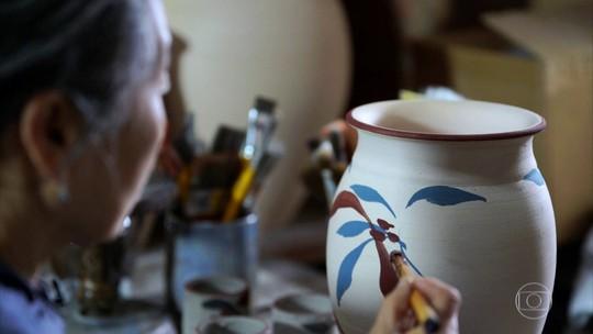 Cidade da cerâmica: Serra da Bocaina inspira arte extraída da terra
