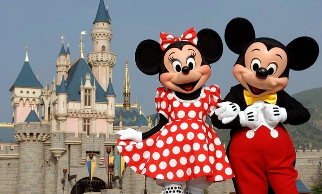 Mickey e sua amada Minnie em Walt Disney World