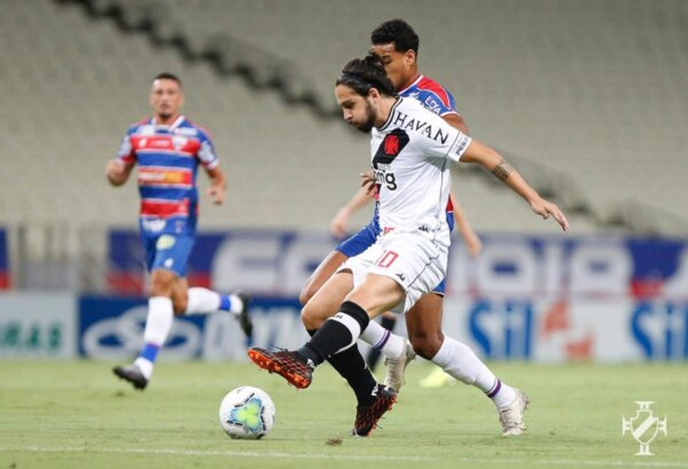 Benítez teve má atuação diante do Fortaleza — Foto: Rafael Ribeiro / Vasco
